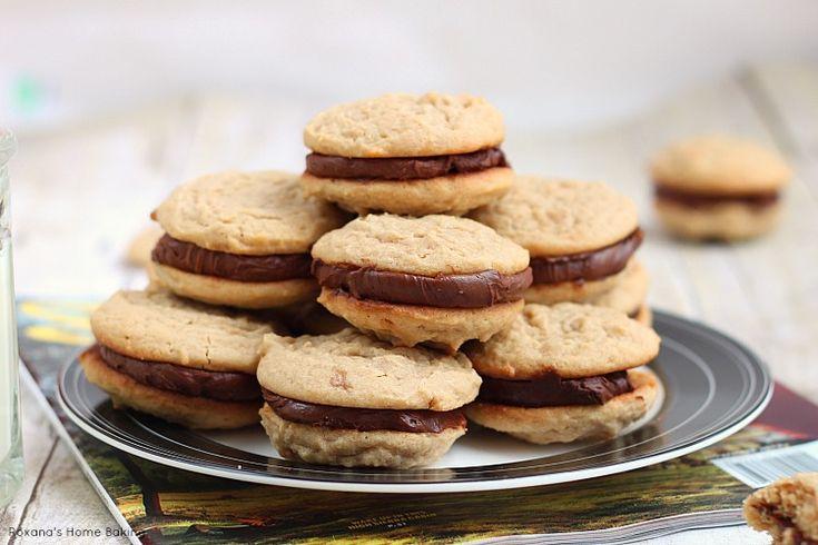 Fudge filled irresistible peanut butter cookies recipe