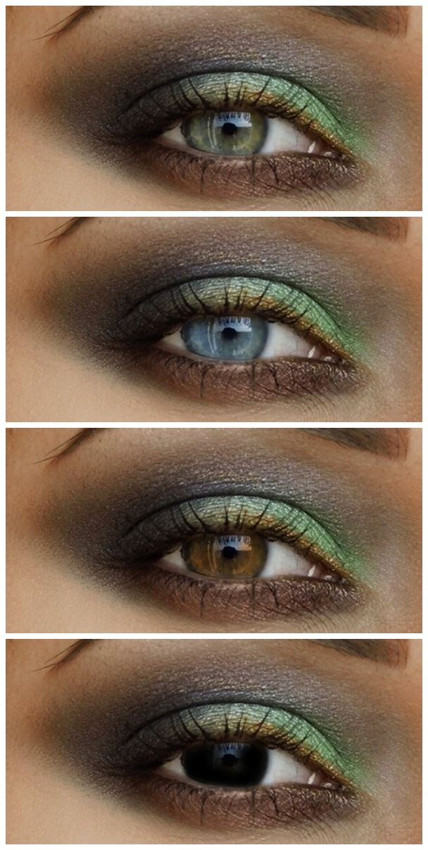 Special Koko : Forest Nymph Make-up: Shades of green & brown                                                                                                                                                                                 More