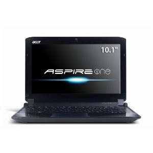 Acer AO532h-2382 10.1-Inch Onyx Blue Netbook - Up to 10 Hours of Battery Life (Personal Computers)