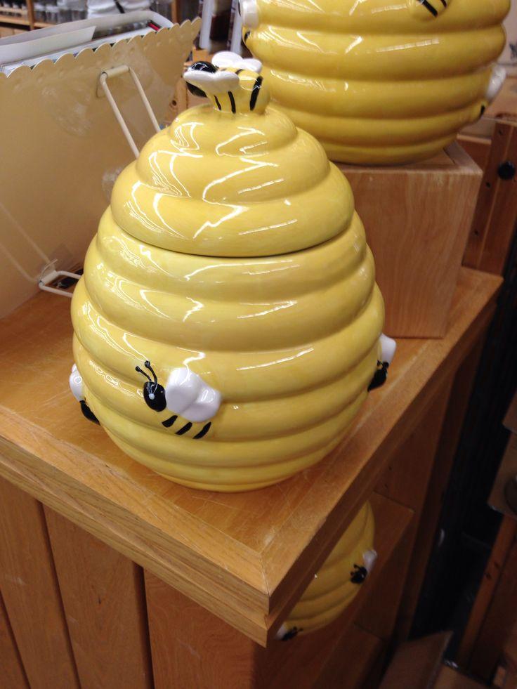 2483 best bee stuff images on pinterest honey bees bees knees and queen bees - Beehive cookie jar ...