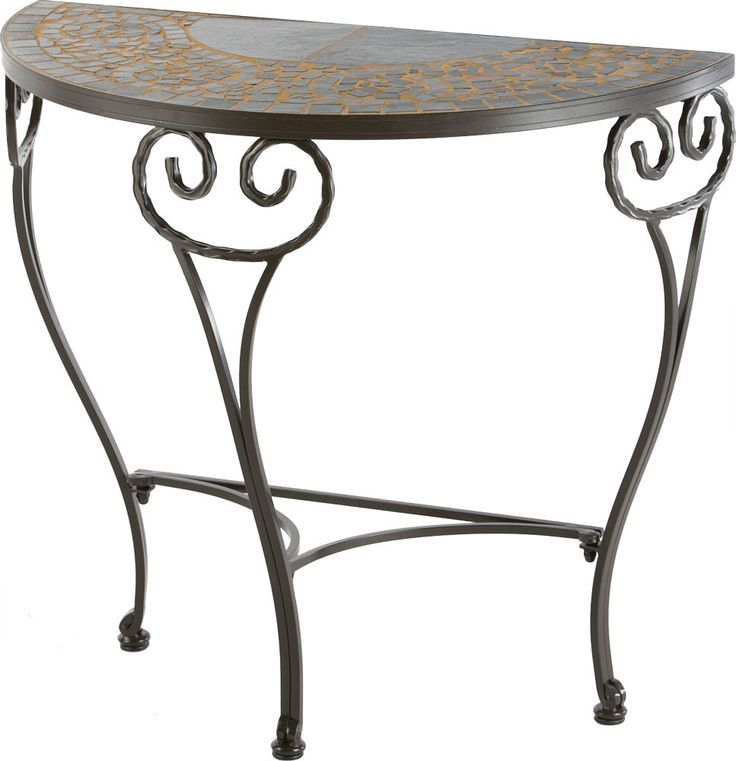Vulcano Mosaic Outdoor Console Table