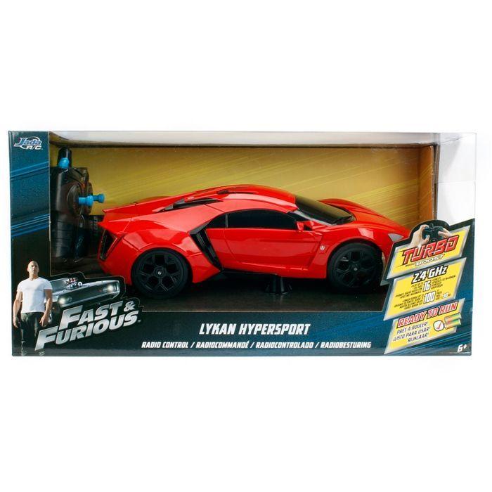 Jada Toys Fast Furious Rc W Motors Lykan Hypersport Remote