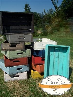 DIY newborn photo crate
