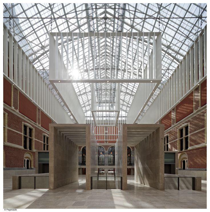 The new #Rijksmuseum Atrium bathing in sunlight!