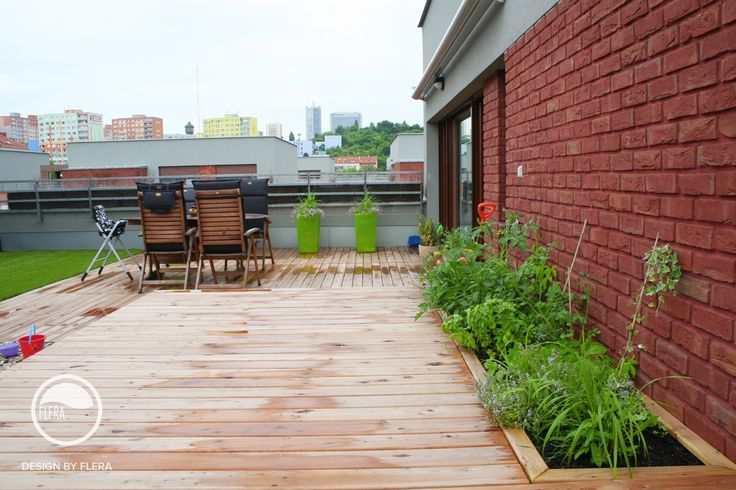 #terrace #landscape #architecture #flowerpot #rooftop #garden