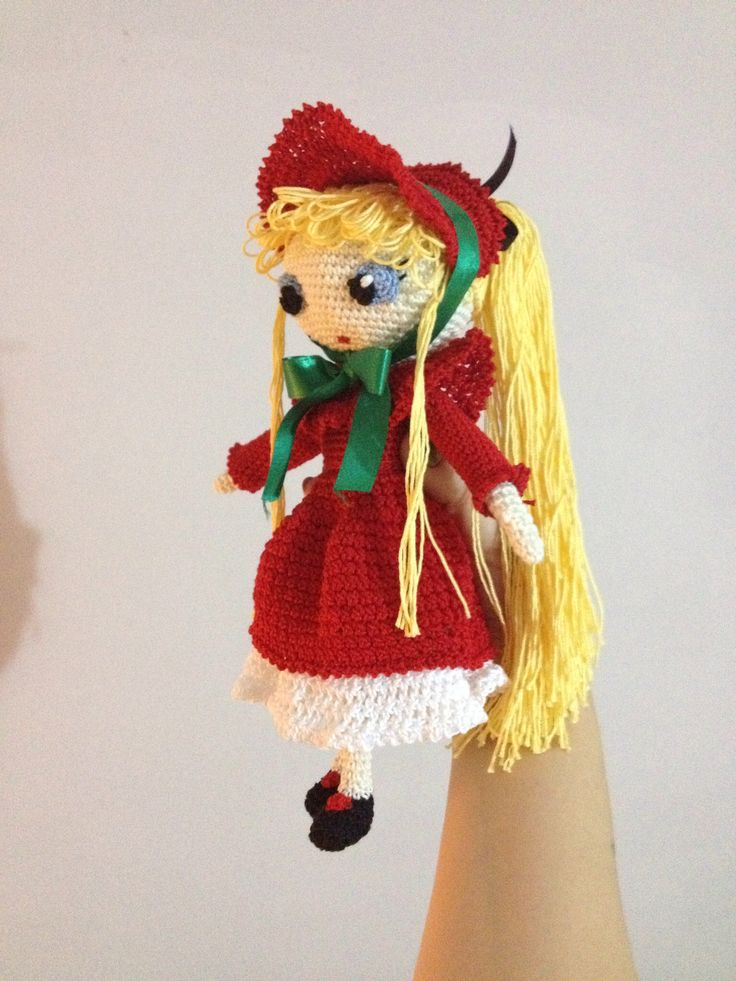 Another image of Shinku, rozen maiden inspired doll...
