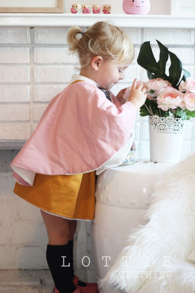 Dusty Pink Capelet