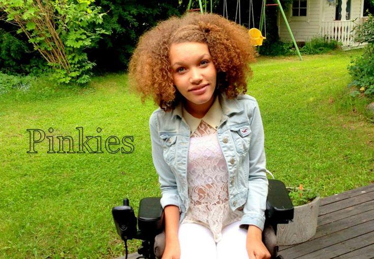 Natalie som har en CP-skada låter inte handikappet hindra henne från att nå hennes drömmar!