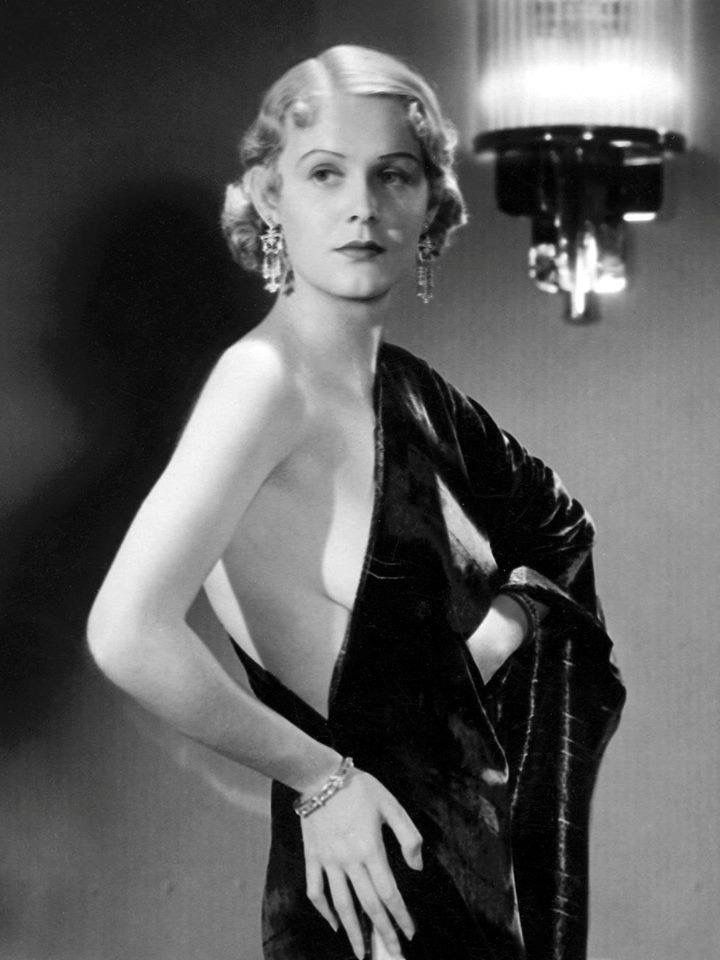 """Gloria Stuart. (Yes, the actress who played the elderly Rose in """"Titanic""""."""