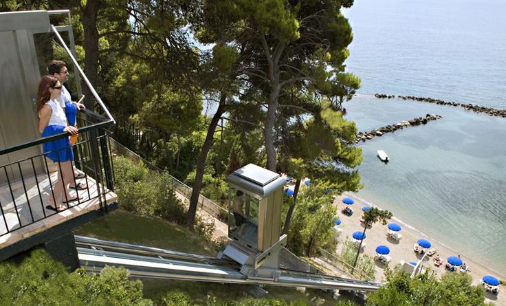 Corfu Holiday Palace Hotel in Kanoni Corfu Greece