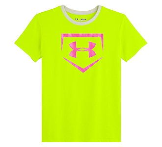 Girls' Under Armour Live to Play Softball T-Shirt | Scheels