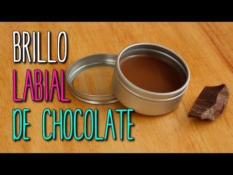 Cómo hacer Bálsamo y Brillo para Labios Casero - ¡Sabor Chocolate! - DIY - Catwalk - YouTube