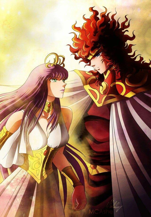 Athena & Apolo Saint Seiya Overture