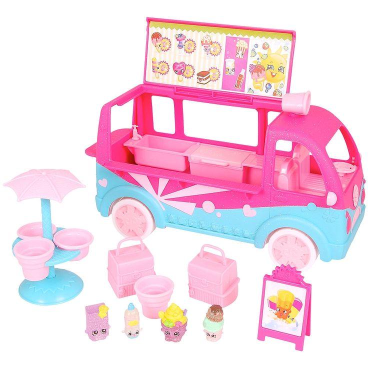 "Shopkins - Glitz Ice Cream Truck - Imports Dragon - Toys""R""Us"