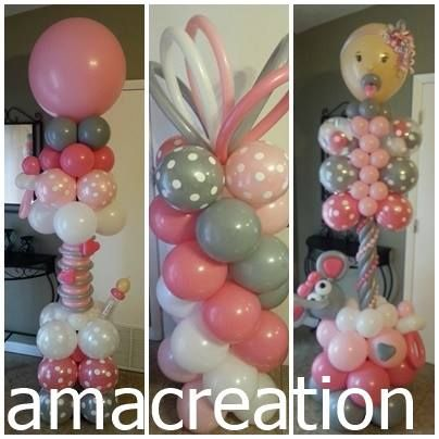 531 Best Images About Baby Shower Balloon Ideas On