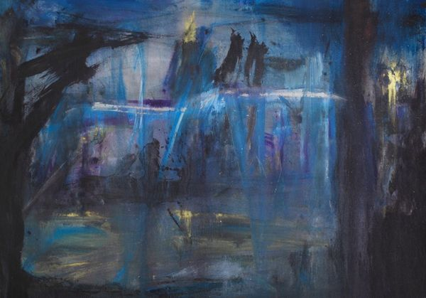 Jakub Spanhel, Aral, 2009, 175 x 215cm. Copyright the artist, courtesy Frameless Gallery. Jakub Špaňhel: Expressionism GR | CZ 7-25 October 2015  Venue: Frameless Gallery Private view: Wednesday 7 October, 6-9pm Hours: Tuesday to Saturday 11am – 6pm Location: 20 Clerkenwell Green London EC1R 0DP