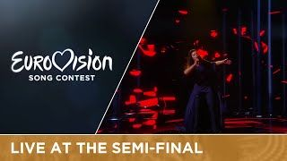 Jamala - 1944 (Ukraine) Live at Semi-Final 2 of the 2016 Eurovision Song Contest, I don't think I will listen to that song again, but the performance was outstanding and so is her voice, hard to turn such a serious topic in a eurovision song but she suceeded (winner, place 1, 534 points)