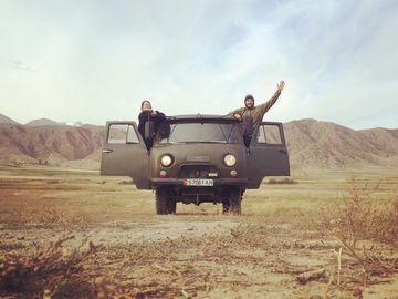 Kyrgyzstan UAZ Buhanka