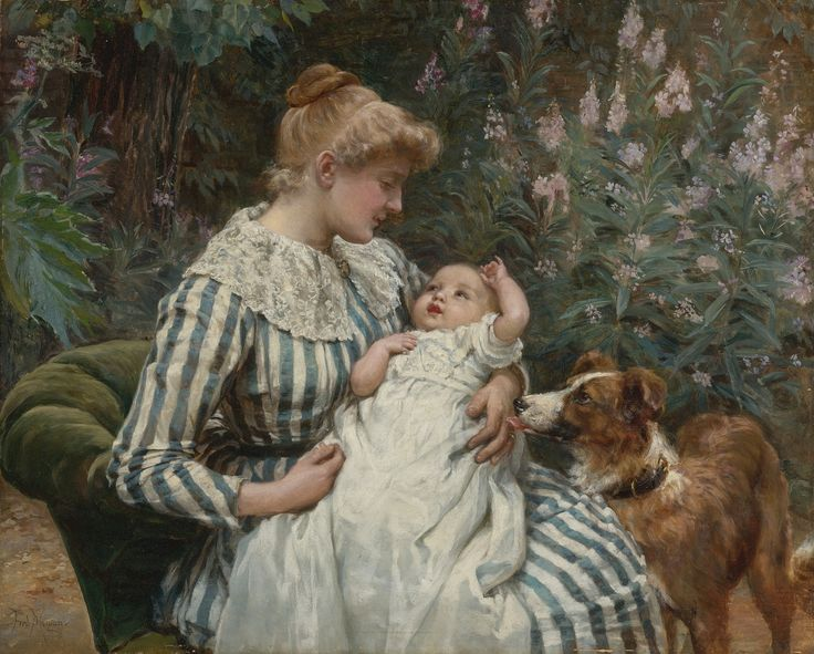 Frederick Morgan (1847-1927) - Gentle reminder