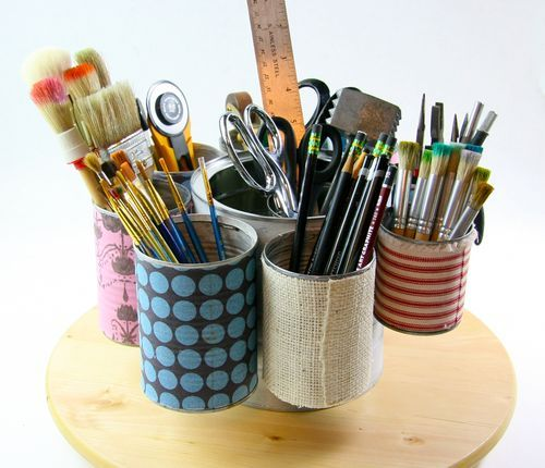 i have to try this: Tins, Art, Tin Cans, Diy, Craft Ideas, Crafts