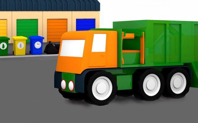 Cartoni animati per bambini macchinine colorate come
