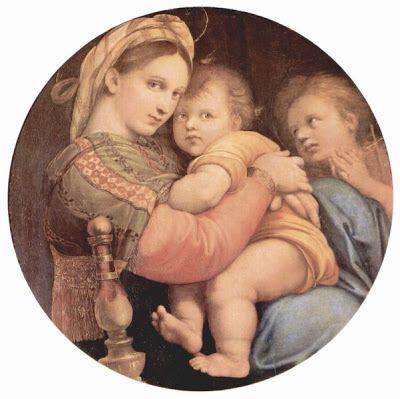 57. RAFAEL, Madonna della Seggiola 1514, Palazzo Pitti. Entre sus  OBRAS…