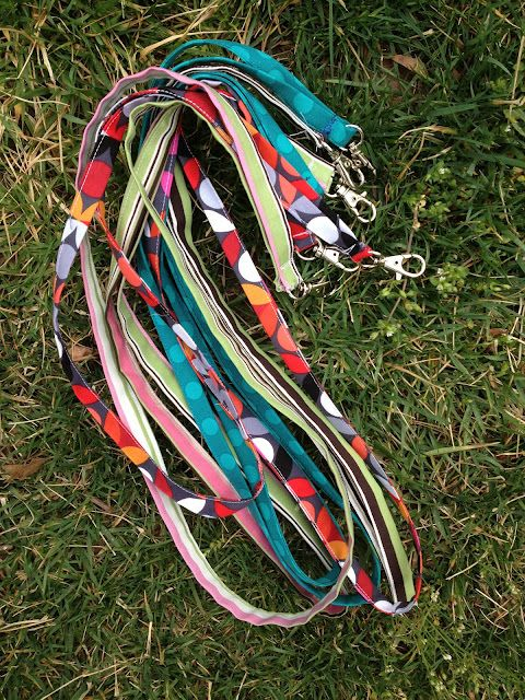 Lanyard Tutorial ...anyone with a sewing machine? We could use star fabric...