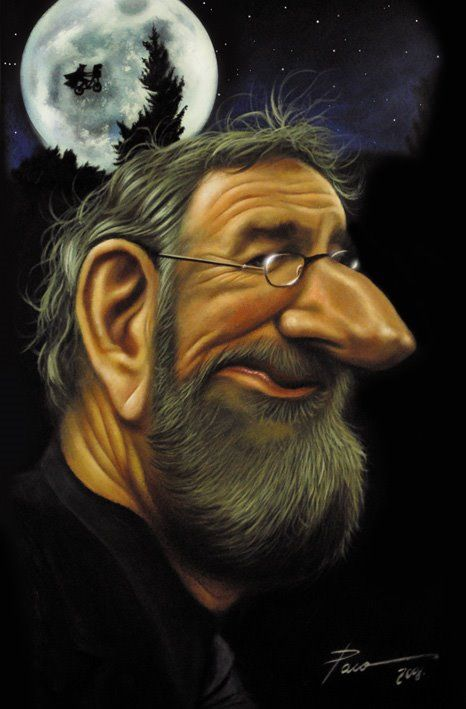 Steven Spielberg FOLLOW THIS BOARD FOR GREAT CARICATURES OR ANY OF OUR OTHER CARICATURE BOARDS. WE HAVE A FEW SEPERATED BY THINGS LIKE ACTORS, MUSICIANS, POLITICS. SPORTS AND MORE...CHECK 'EM OUT!!