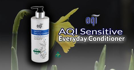 AQI Sensitive Everyday Conditioner~ This special Sensitive Skin Hair Conditioner can be used by both children and adults and on permed or coloured hair, locking in moisture to leave hair shiny and manageable. Please follow the link for more details:  http://www.aqicare.com/buy/aqi-sensitive-everyday-conditioner-500ml/0377