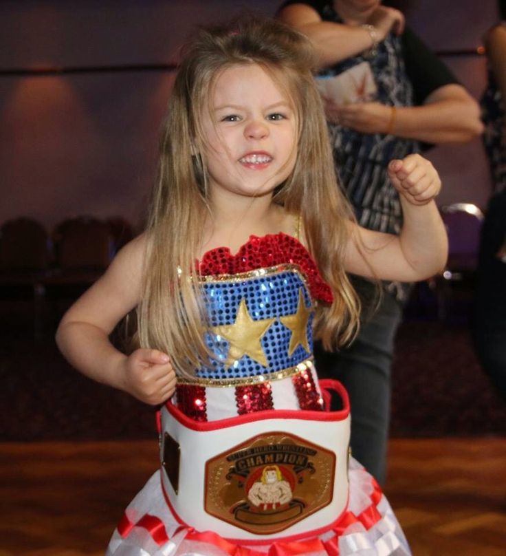 Our best dressed Superstar Olivia at yesterday's disco at West Leagues Club in Leumeah proudly supporting her new Super Hero Championship Belt!  Congratulations Olivia & thanks for being such a superstar in your smashing superhero costume!!  #westleaguesclub #leumeah #discoparty #superwrestlingheroes #wrestling #party #littlemiss #champion #bestdressed
