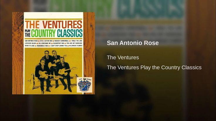 The Ventures - San Antonio Rose - instrumental guitar song - easy instrumental guitar solo - instrumental guitar tabs