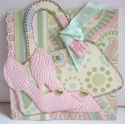 Going Buggy: Cricut cartridge Paisley: Cards Ideas, Cricut Cards, Cards Clothing Accessor, Cards Crafts Ideas, Cards Cricut, Crafty Cards, Cards Dresses, Clothing Cards, Cards Footwear