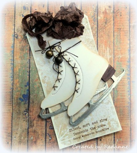 PaperArtsy EAB05 Winter Edition by Anne at Redanne