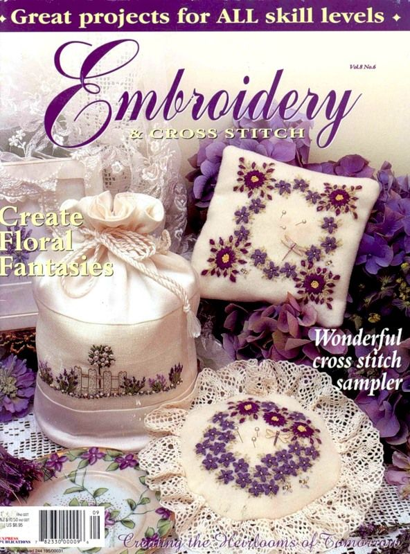 Embroidery (not only cross stitch) Vol.8- N.6