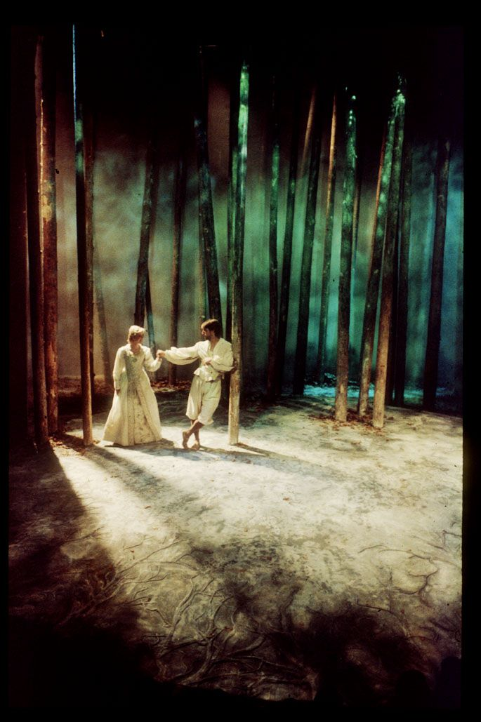 As You Like It. Scenic design by Christopher L. Harris. 1987