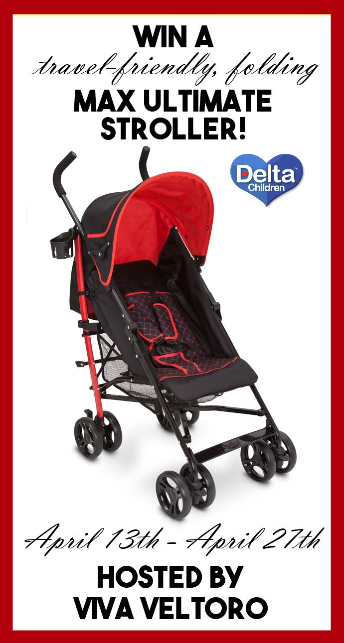 Delta Children's Max Ultimate Stroller Review & Giveaway