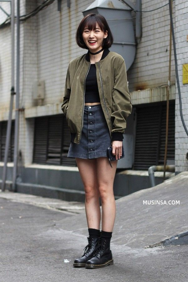 MARTENS Street Style Im Eunseo, Seoul. See more. 4-62603