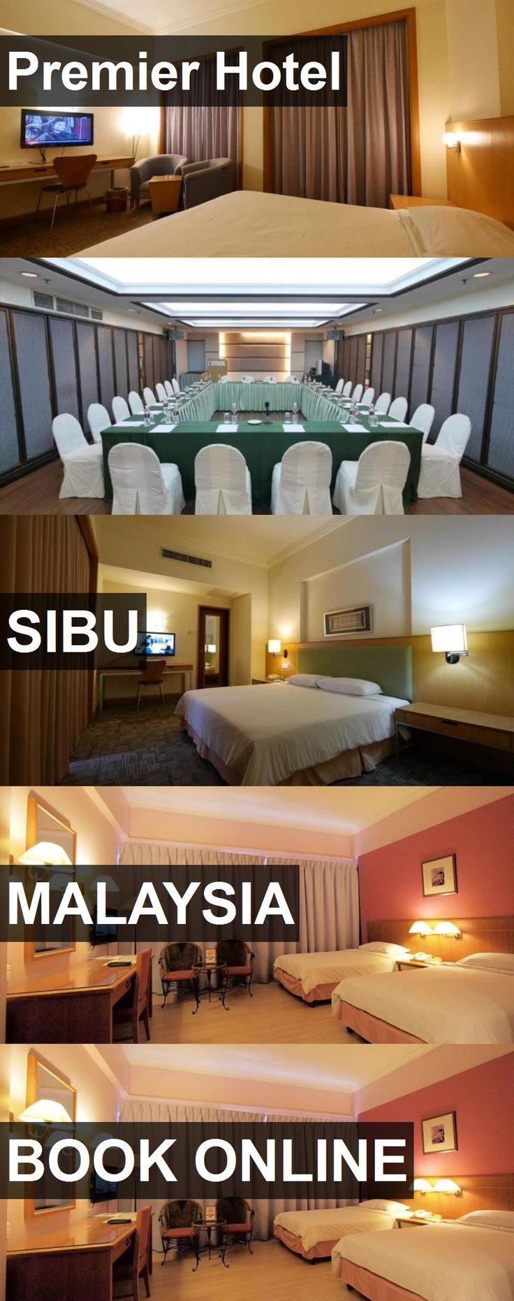 Premier Hotel in Sibu, Malaysia. For more information, photos, reviews and best prices please follow the link. #Malaysia #Sibu #travel #vacation #hotel