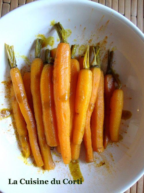 La Cuisine du Corti: Carottes glacées au curcuma