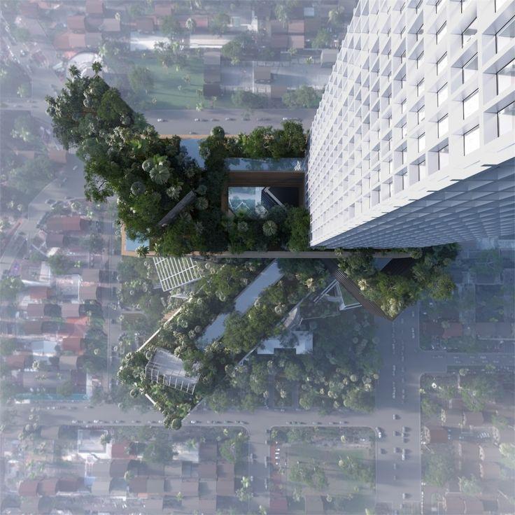 MVRDV proposes 400 meter tall 'vertical city' in Jakarta (2)