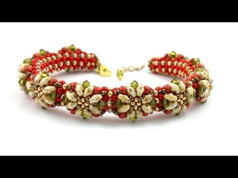 "Beading4perfectionists: ""Proodles"" bracelet. The PRAW bracelet decorated…"