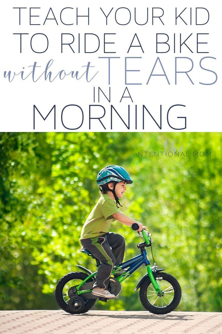 Teach Your Kid How To Ride A Bike Without Tears Spills In One Morning Bike Ride Kids Ride On Summer Family Fun