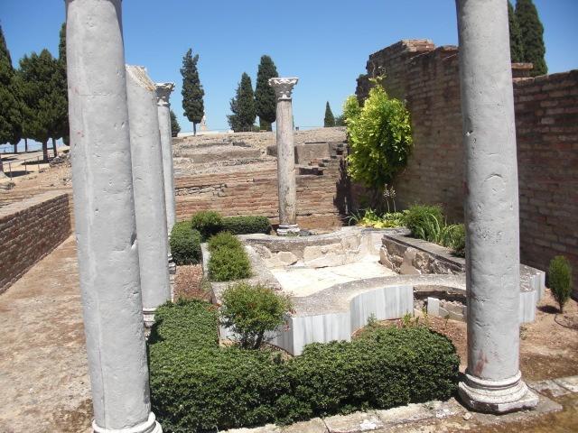 Itálica (Roman ruins) in Santiponce, Spain