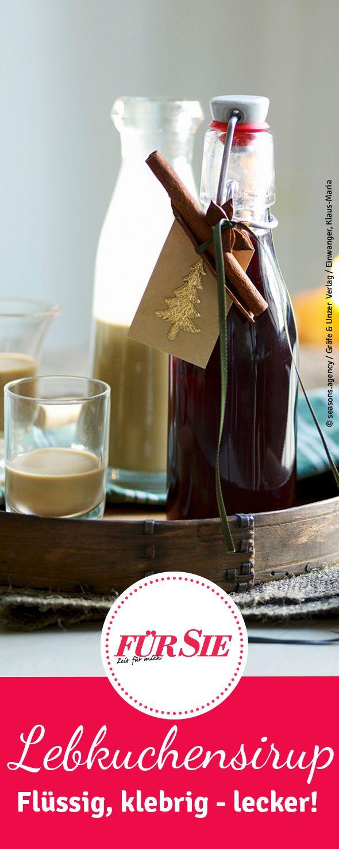 Lebkuchensirup verfeinert jeden Tee, Milchkaffee und versüßt auch weihnachtliche Desserts. Probiert das einfache Rezept aus und ihr kommt garantiert auf den Genuss ;)!