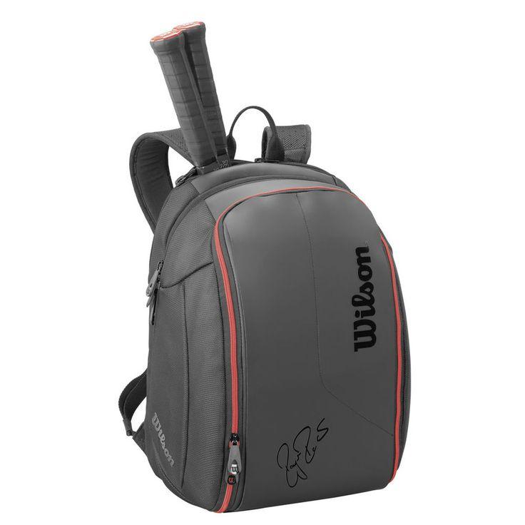 Wilson Federer DNA BackPack Bag - Black