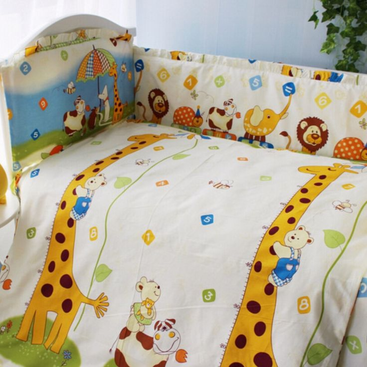 33.60$  Know more - http://aiasj.worlditems.win/all/product.php?id=32673554637 - Multi Colours 5 pcs/set Baby Crib Bumper Sets Nursery,Cartoon Toddler Bedding for Baby Cot Set Bumper Sheet,Protector De Cuna