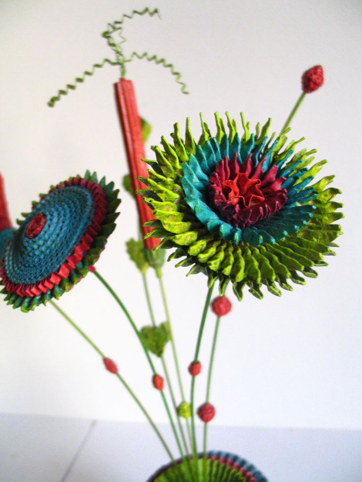 M s de 1000 im genes sobre flores recicladas en pinterest for Manualidades de jardineria