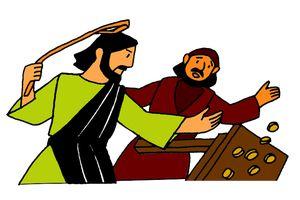 11_Jesus and Moneychangers