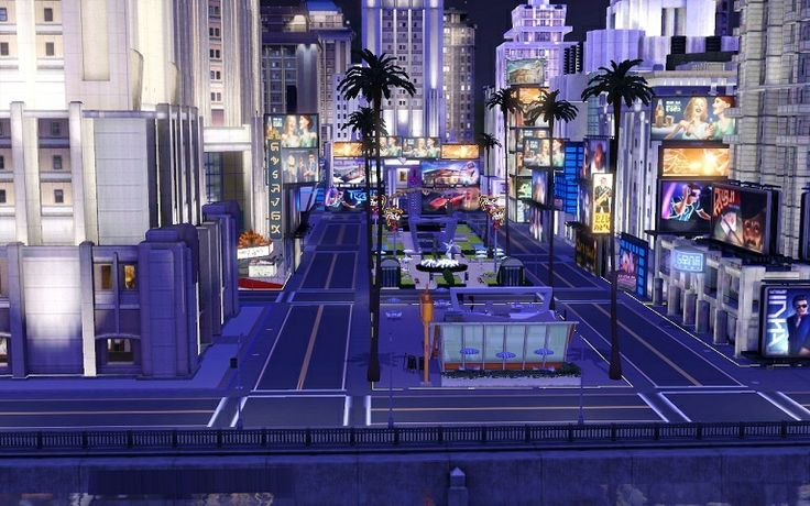 The Sims 3 New Warsaw City | Custom CAW Worlds | The Sims 3 Create A World Large World