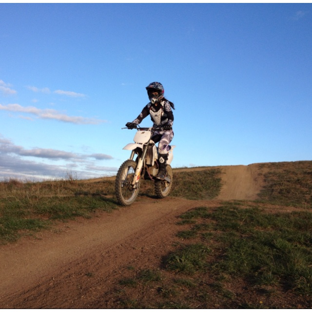 Taring it up on my YZ80